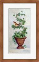 Framed Ivy Topiary III