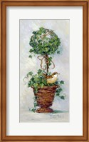 Framed Ivy Topiary IV