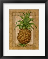 Framed Pineapple Pizzazz I