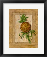 Framed Pineapple Pizzazz II