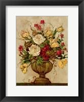 Framed Floral Reflections II
