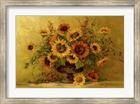 Framed Sunflower Sunset