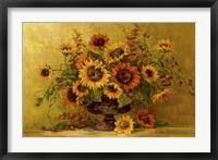 Framed Sunflower Sunset