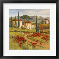 Framed Tuscan Dream I