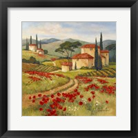 Framed Tuscan Dream II