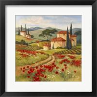 Framed Tuscan Dream II