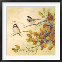 Framed Birds of Autumn I