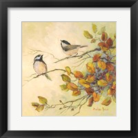 Framed Birds of Autumn I