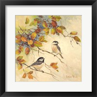 Framed Birds of Autumn II