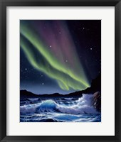 Framed Northern Lights