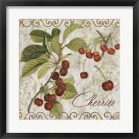 Framed Pastoral Fruits I