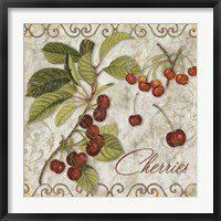 Framed Pastoral Fruits I