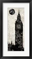 Framed Moon Over London