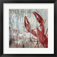 Framed New Orleans Seafood I