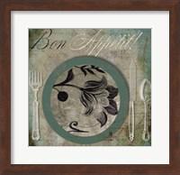 Framed Bon Appetit II