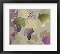 Framed Modern Wine IV