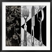 Framed Dinner Conversation I