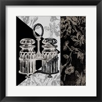 Dinner Conversation IV Framed Print