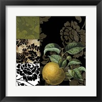 Framed Damask Lerain III