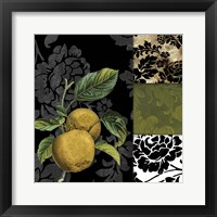 Framed Damask Lerain IV