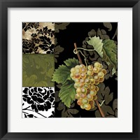 Framed Damask Lerain V