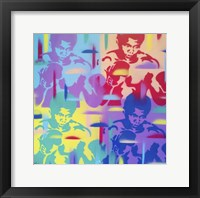 Framed Abstract Boxer