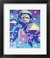 Framed Boxer Star 2