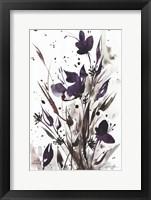 Framed Floral Music I