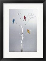 Framed Three In A Tree