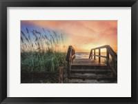 Framed Walk Into Sunrise