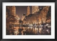 Framed Central Park Glow