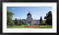Framed Montana State Capitol, Helena, Montana