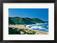 Framed View of the Coastline, Eastern Cape, South Africa