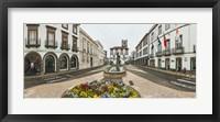 Framed Ponta Delgada City Hall, Sao Miguel, Azores, Portugal