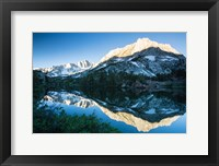 Framed Reflections in a River in Eastern Sierra, California