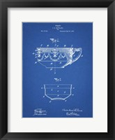 Framed Blueprint Haviland Demitasse Tea Cup Patent