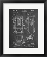 Framed Chalkboard Wall Phone Patent
