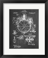 Framed Chalkboard Gyrocompass Patent