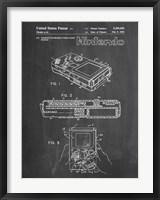 Framed Chalkboard Nintendo Game Boy Patent