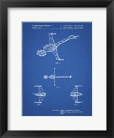 Framed Blueprint Star Wars B-Wing Starfighter Patent
