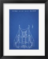 Framed Blueprint Otoscope Patent Print