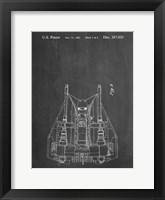 Framed Chalkboard Otoscope Patent Print