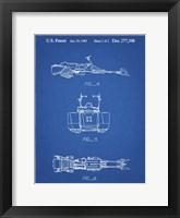 Framed Blueprint Star Wars Speeder Bike Patent
