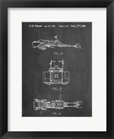 Framed Chalkboard Star Wars Speeder Bike Patent
