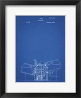 Framed Blueprint Printing Press Patent