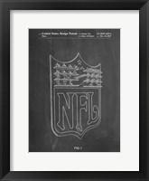 Framed Chalkboard NFL Display Patent