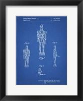 Framed Blueprint Star Wars IG-88 Patent