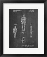 Framed Chalkboard Star Wars IG-88 Patent