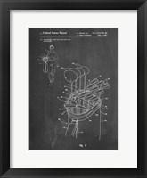 Framed Chalkboard Golf Bag Patent