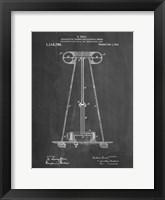 Framed Chalkboard Tesla Energy Transmitter Patent